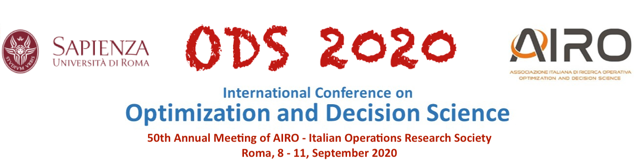 ODS2020 - Optimization and Decision Science